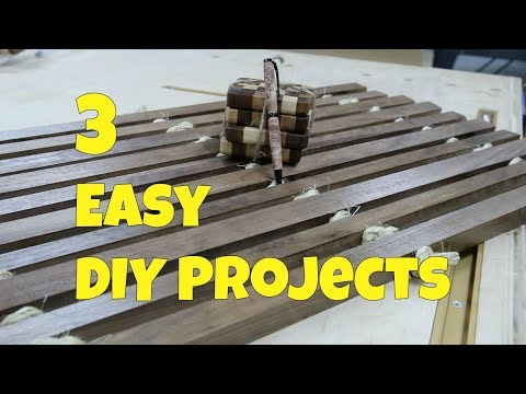 3 Easy DIY Projects You Can Make In One Day – Woodworking