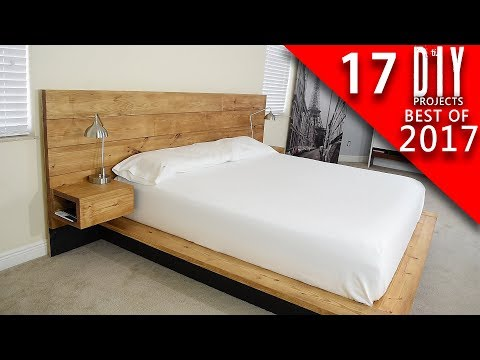 17 DIY Woodworking Projects