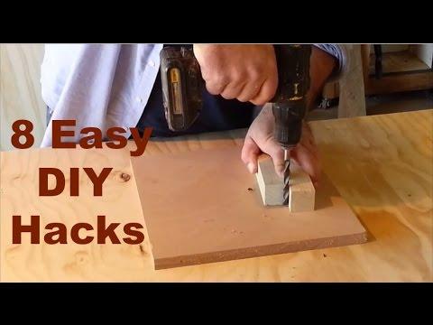 DIY Hacks – 8 money saving handyman and woodworking hacks
