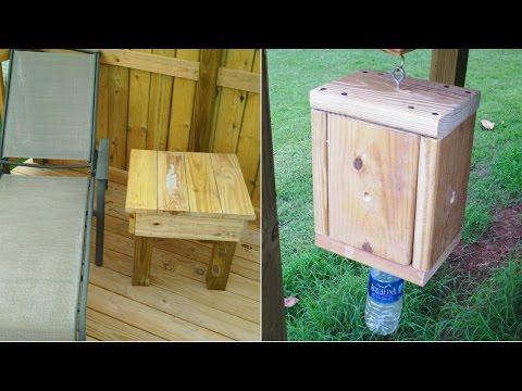 Scrap Wood Projects