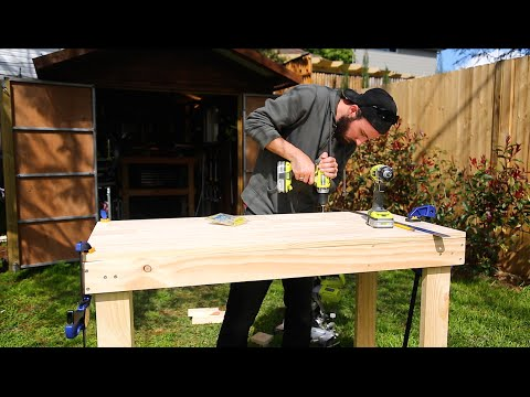 How To Build a Simple Cheap Work Bench