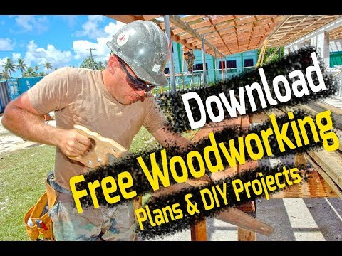 Free Woodworking Plans & DIY Projects for Beginners – Download Plans PDF Now