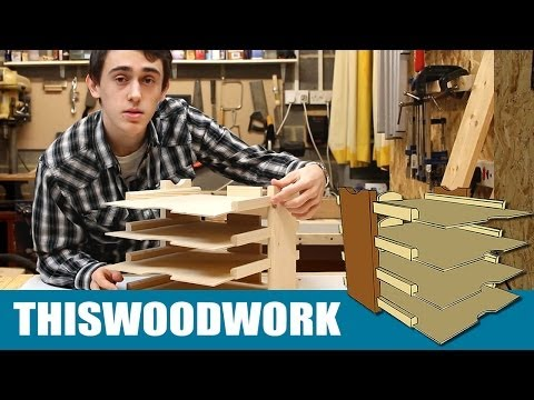 Woodworking Projects | Homemade Paper Tray