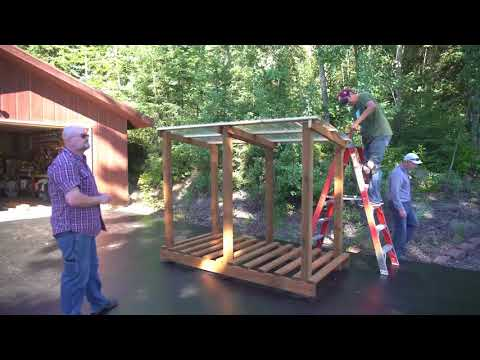 HOW TO BUILD A SHED IN A WEEKEND – Woodworking Projects