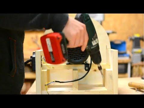 Diy Build Wooden DISC SANDER – Diy Woodworking Tools