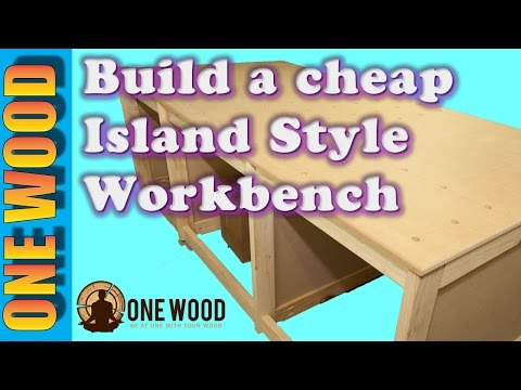 How to build a DIY workbench for woodworking projects using a Kreg HD jig pocket hole jig