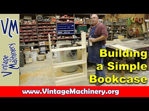 Beginning Woodworking:  Building a Simple Bookcase