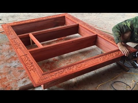 Woodworking Projects (Part 1) | Build Recessed Wall Cabinet | DIY Liquor Cabinet