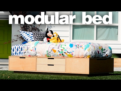 Making a Modular Bed – Woodworking Projects