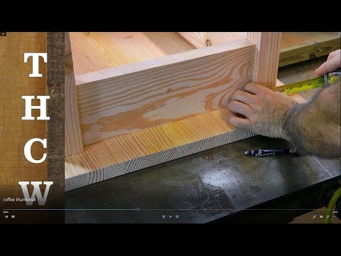 Woodworking Projects and Plans : Arts & Crafts Coffee Table, easy and simple to build