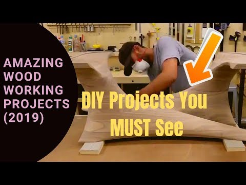 Woodworking Ideas : 3 Amazing WoodWorking Projects You can try at home (2019) 😍