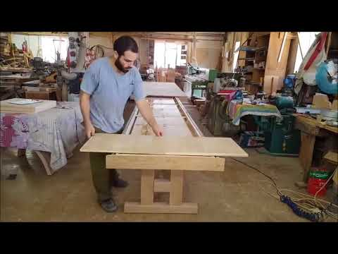 OMG! Long Transforming Table – Woodworking Projects