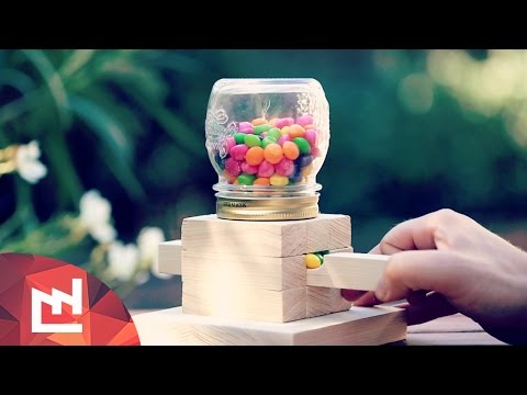 DIY Project : Make a candy dispenser