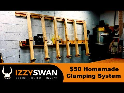 50 Dollar Homemade Clamps System | Woodworking Project