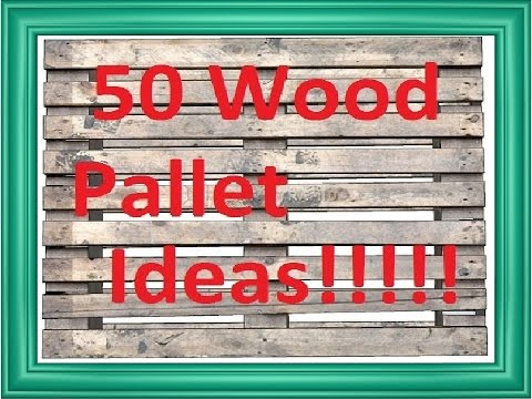Pallet Wood Projects & Pallet Craft Ideas!
