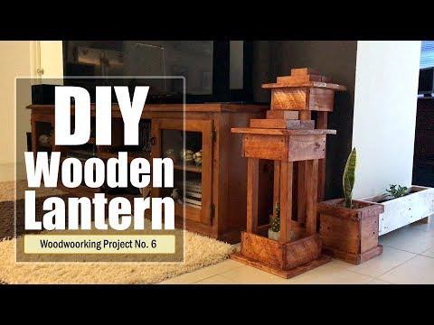 DIY –  Wooden Lantern