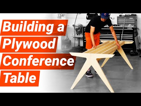 Building a DIY Conference Table | Woodworking