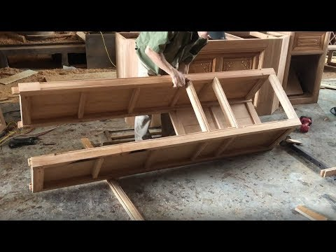 Woodworking Projects For New Home Furnishings // Making Cabinet Wine Bar From Hardwood (Part-1)