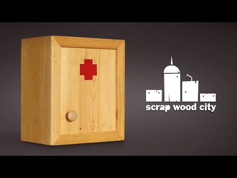 How to make a wooden first aid cabinet – DIY
