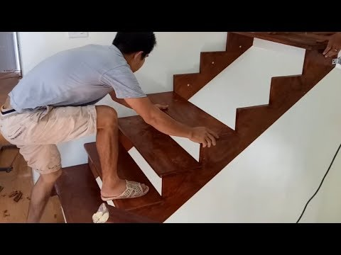Ingenious Woodworking Techniques And Skills Easy – Build And Install A Wooden Staircase Step By Step