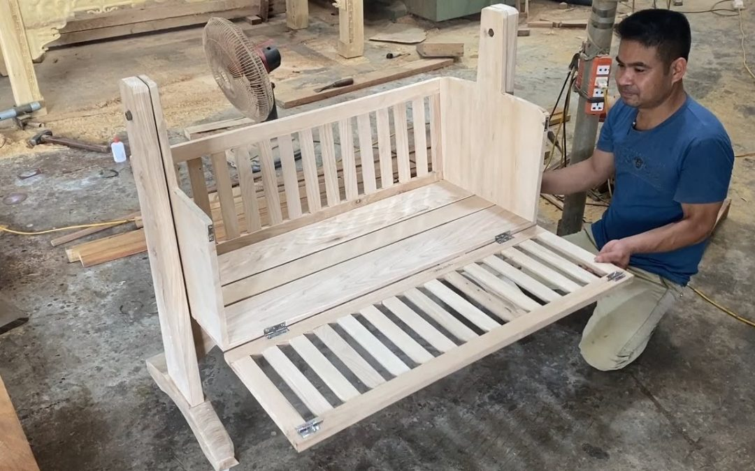 Amazing Woodworking Project Design Ideas – How To Build A Modern Versatile Single Cribs For Your Son