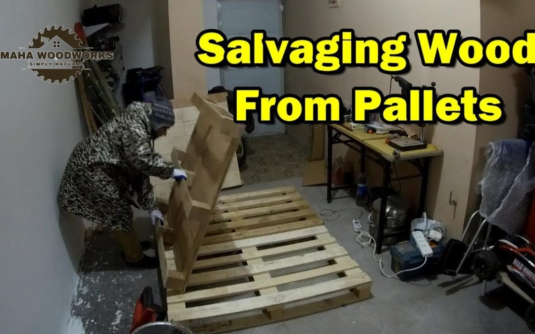 Wooden Pallets Cheap Material for DIY Woodworking Projects