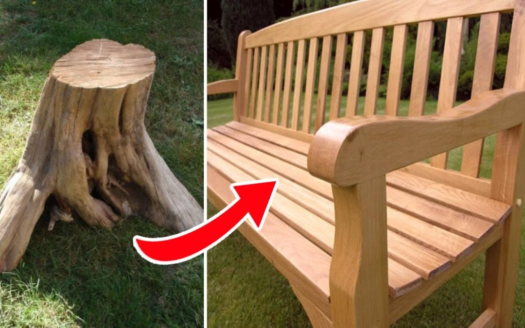 Outdoor Garden Wooden Sofa Bench Incredible Woodworking Projects Tools Ideas DIY Creative Craft 2020
