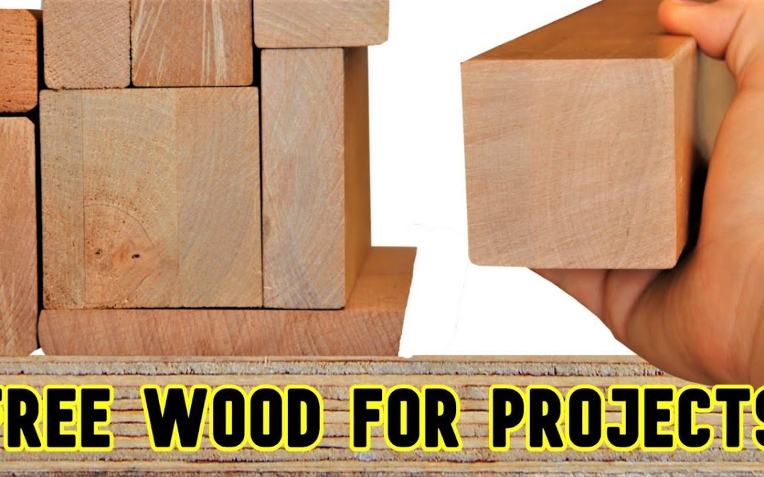 How I Get So Much Hardwood for Woodworking Projects for FREE!