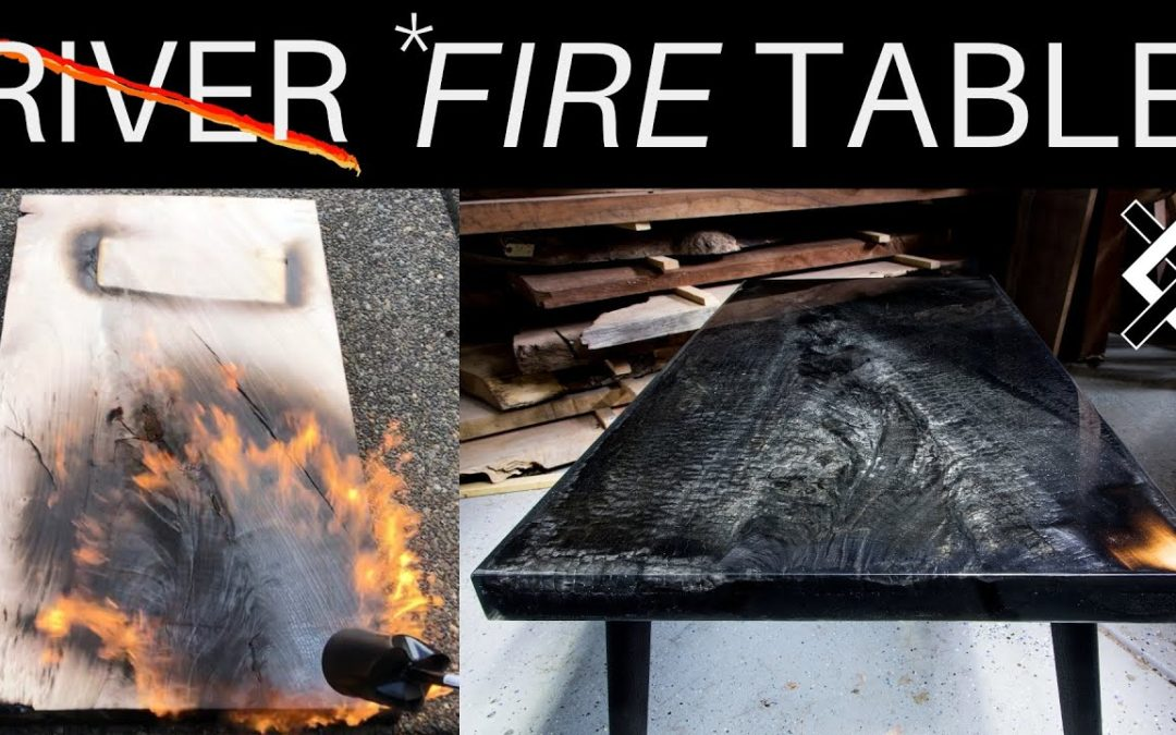 Fire Epoxy Table – Woodworking Projects – Resin Art