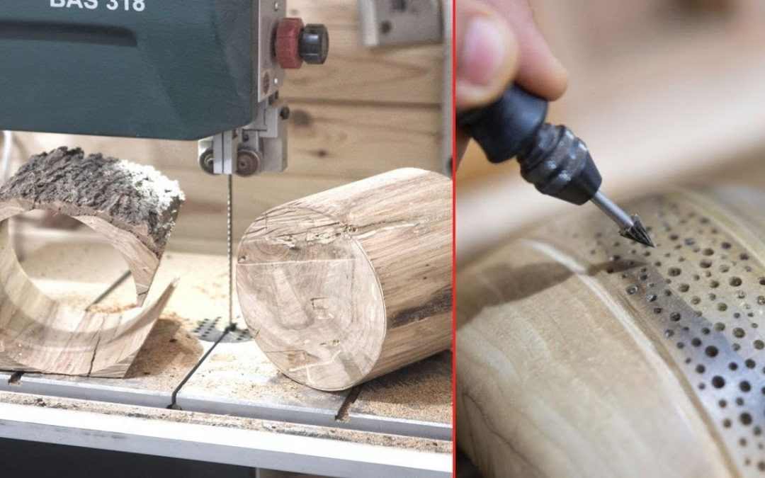 20 Amazing WoodWorking Ideas Skills Tools and Tricks. Wooden DIY Projects You MUST Watch