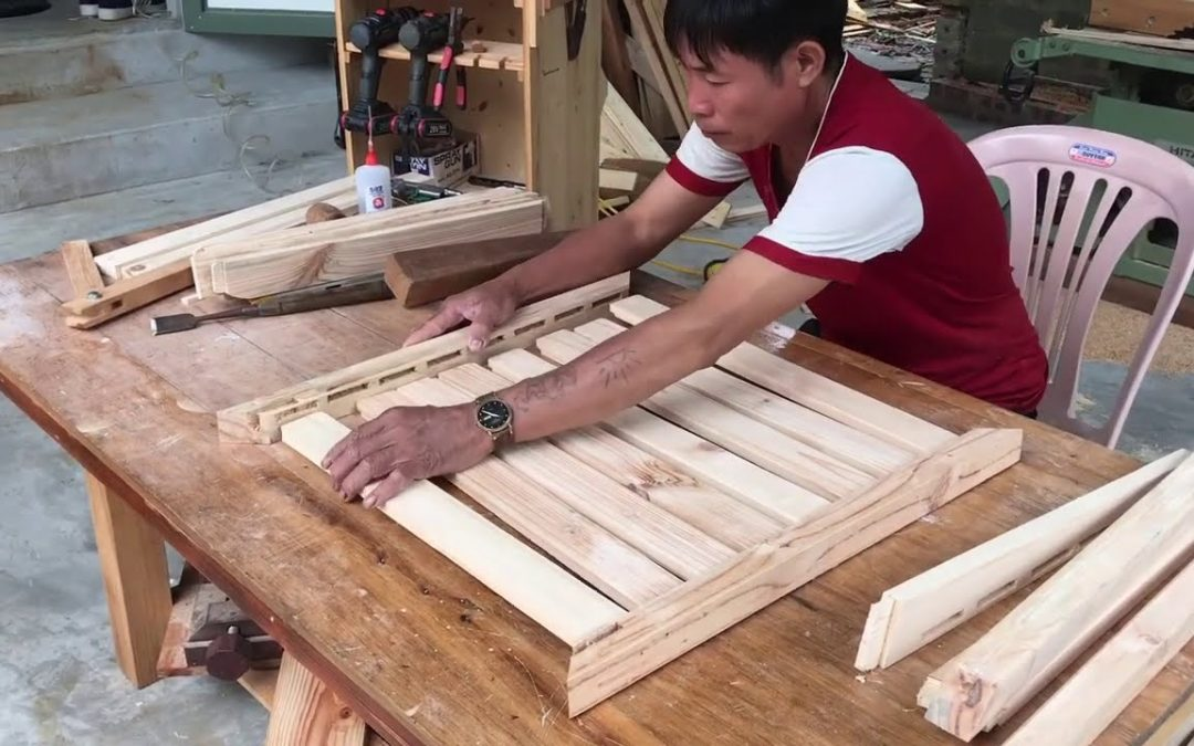 Woodworking Project Inspirational Outdoor pallet Mini Bar Design // How To.  DIY!