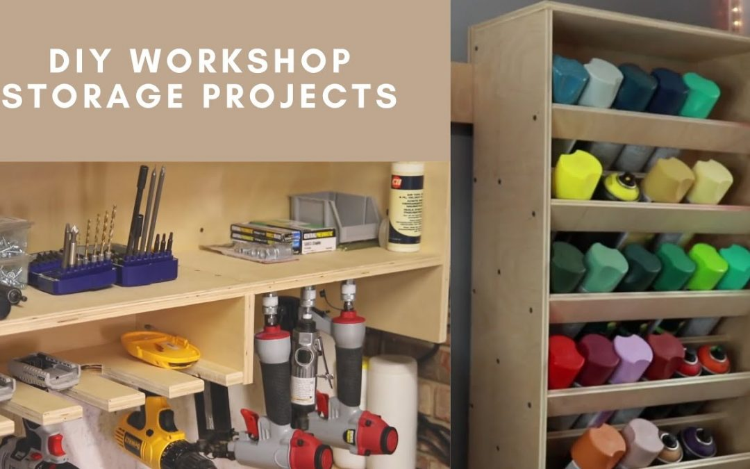 DIY Workshop Storage Projects | Step – By – Step Woodworking Projects